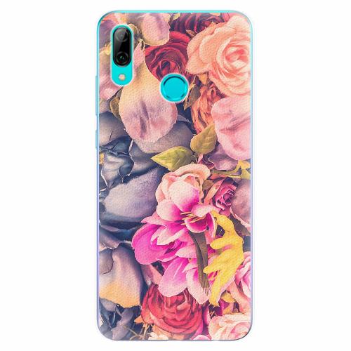 Silikonové pouzdro iSaprio - Beauty Flowers - Huawei P Smart 2019