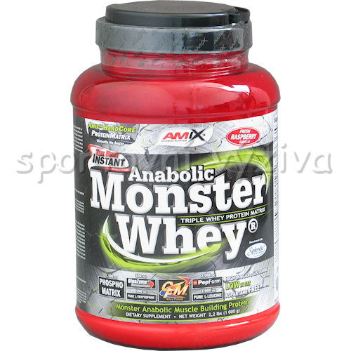 Anabolic Monster Whey - 1000g-strawberry-banana