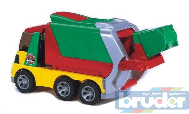 BRUDER 20002 Auto popelář