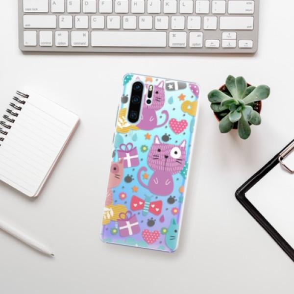 Plastové pouzdro iSaprio - Cat pattern 01 - Huawei P30 Pro