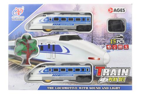 Vlaková sada s rychlovlakem