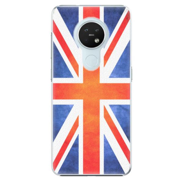 Plastové pouzdro iSaprio - UK Flag - Nokia 7.2