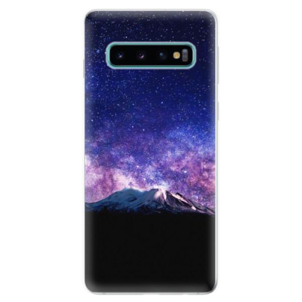 Odolné silikonové pouzdro iSaprio - Milky Way - Samsung Galaxy S10