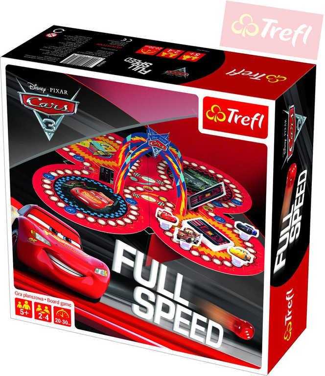 TREFL Hra Full Speed Cars 3 (Auta) *SPOLEČENSKÉ HRY*