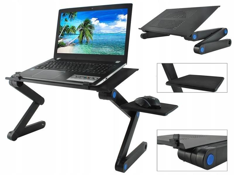 Polohovatelný stolek na notebook