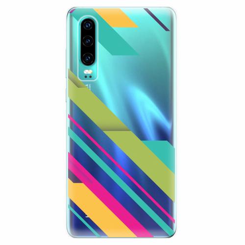 Silikonové pouzdro iSaprio - Color Stripes 03 - Huawei P30