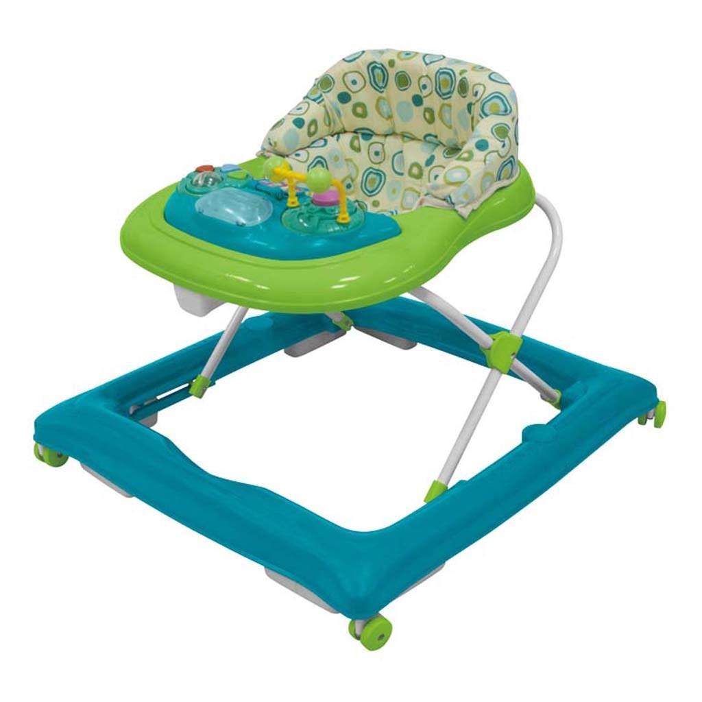 Dětské chodítko Baby Mix - blue-green - modrá