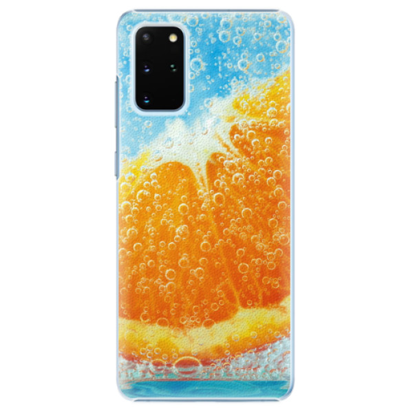 Plastové pouzdro iSaprio - Orange Water - Samsung Galaxy S20+
