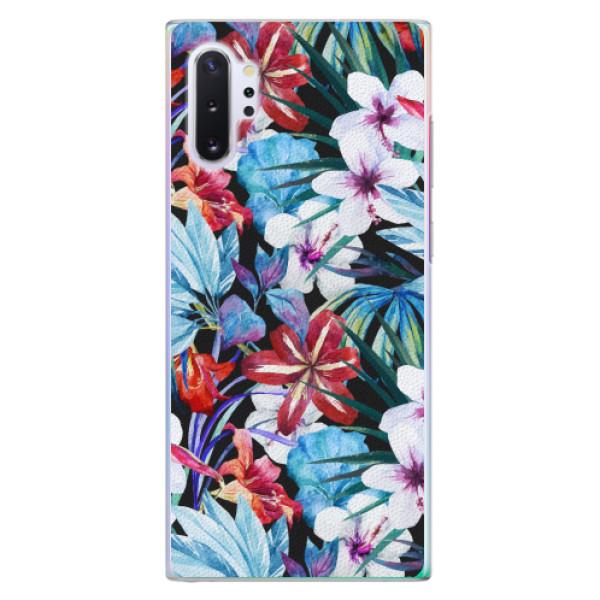 Plastové pouzdro iSaprio - Tropical Flowers 05 - Samsung Galaxy Note 10+