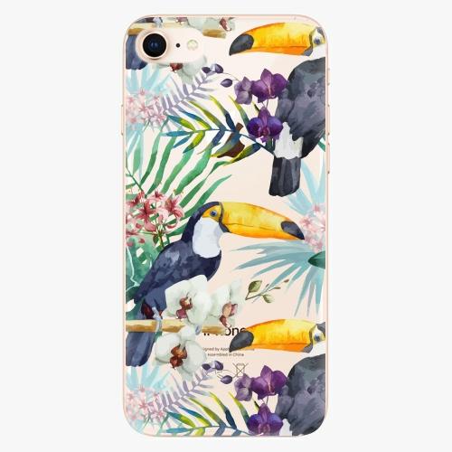 Plastový kryt iSaprio - Tucan Pattern 01 - iPhone 8