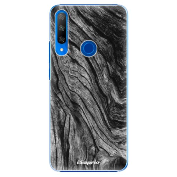Plastové pouzdro iSaprio - Burned Wood - Huawei Honor 9X