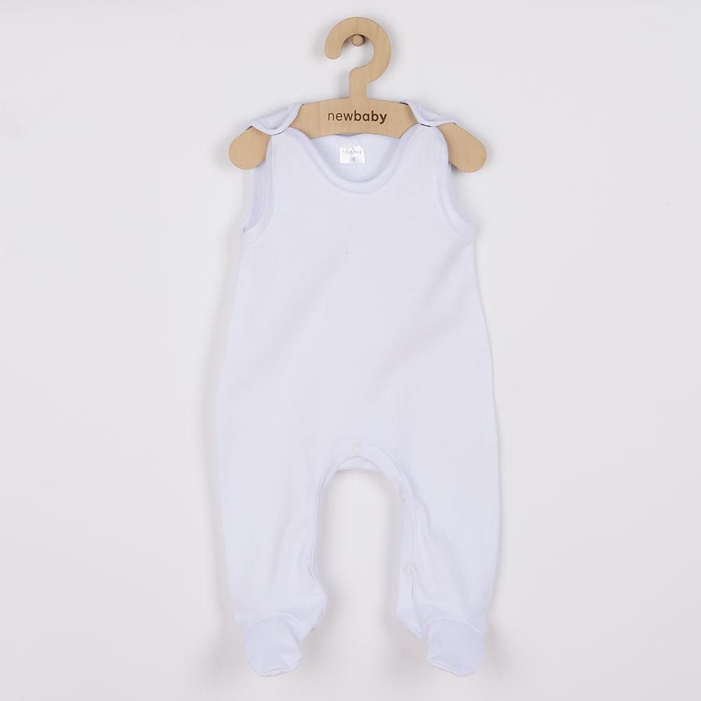 Dupačky New Baby Classic - bílá/50