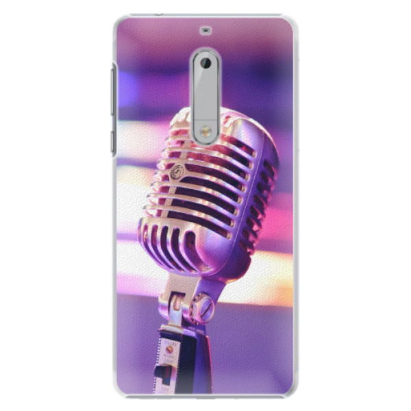 Plastové pouzdro iSaprio - Vintage Microphone - Nokia 5