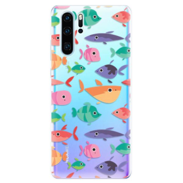 Odolné silikonové pouzdro iSaprio - Fish pattern 01 - Huawei P30 Pro