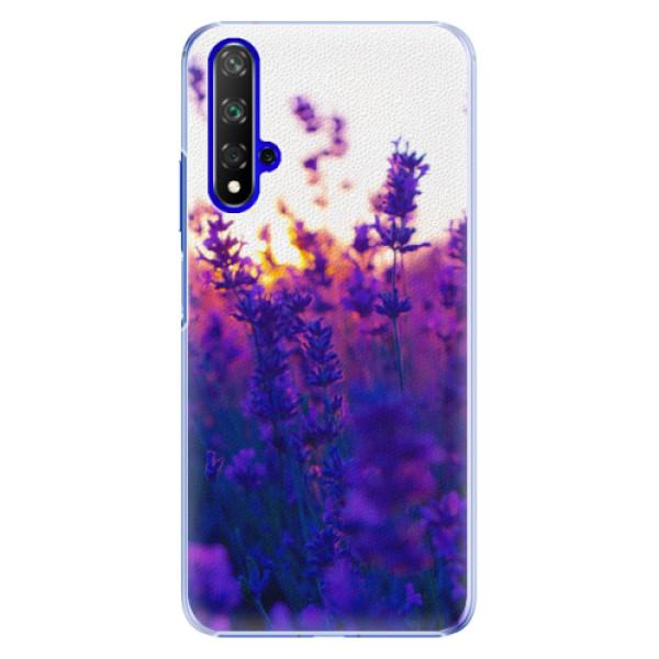 Plastové pouzdro iSaprio - Lavender Field - Huawei Honor 20