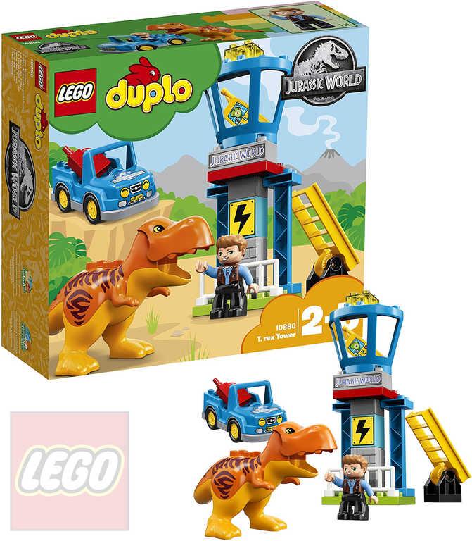 LEGO DUPLO T-Rex a věž 10880 STAVEBNICE