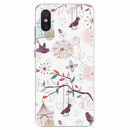 Plastový kryt iSaprio - Birds - Xiaomi Mi 8 Pro