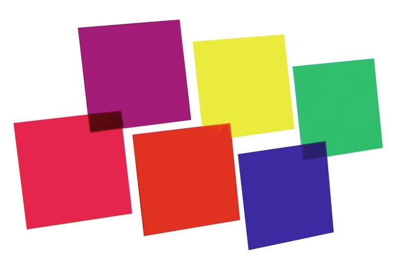 SET barevné filtry 64 - 6 barev