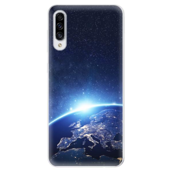 Odolné silikonové pouzdro iSaprio - Earth at Night - Samsung Galaxy A30s