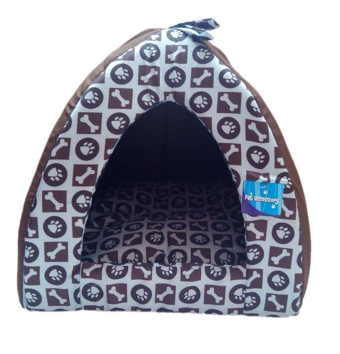 Hnědé psí iglů - 45x45 cm