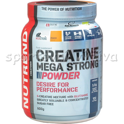 Creatine Mega Strong Powder - 500g-broskev