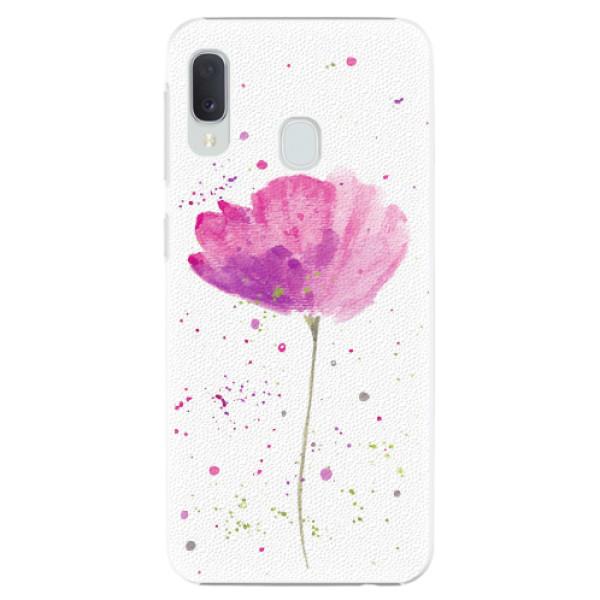 Plastové pouzdro iSaprio - Poppies - Samsung Galaxy A20e
