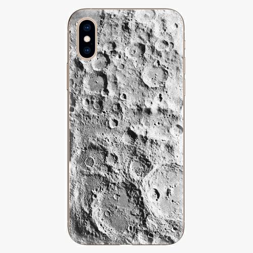 Silikonové pouzdro iSaprio - Moon Surface - iPhone XS
