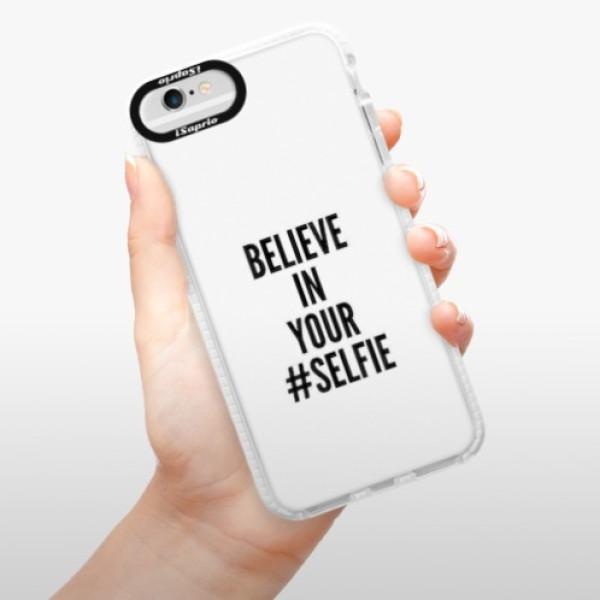 Silikonové pouzdro Bumper iSaprio - Selfie - iPhone 6/6S