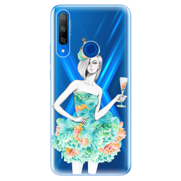 Odolné silikonové pouzdro iSaprio - Queen of Parties - Huawei Honor 9X