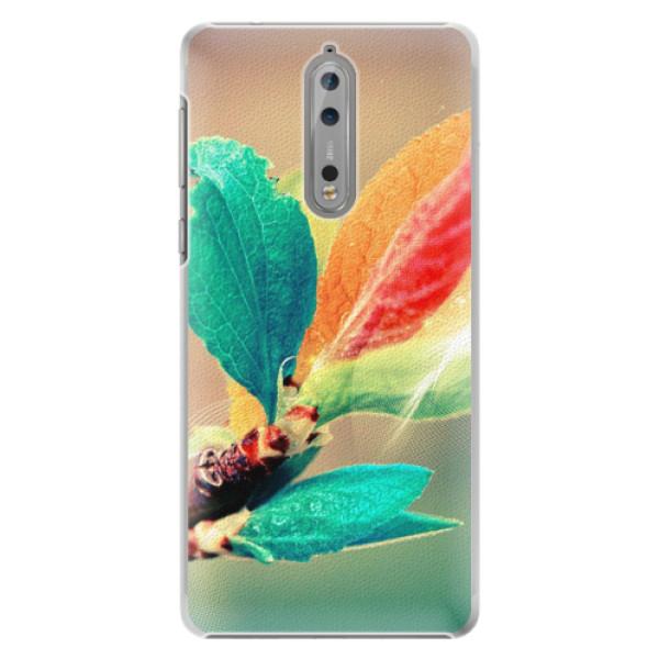 Plastové pouzdro iSaprio - Autumn 02 - Nokia 8