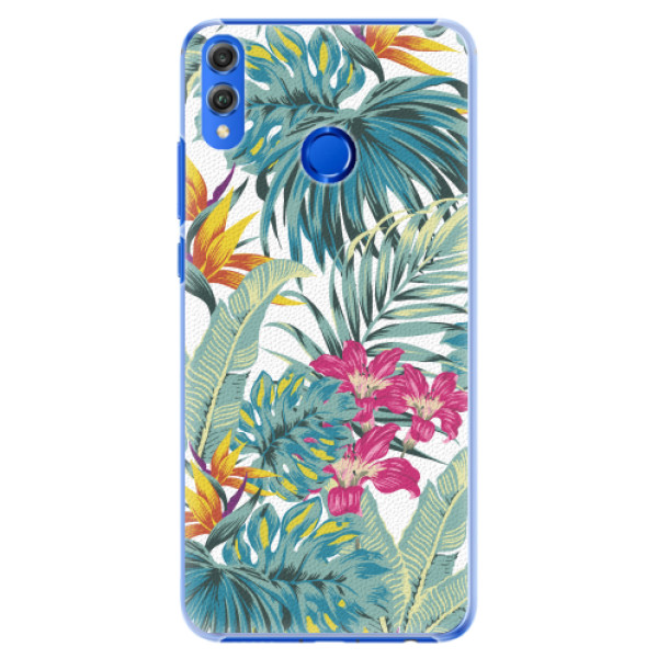Plastové pouzdro iSaprio - Tropical White 03 - Huawei Honor 8X