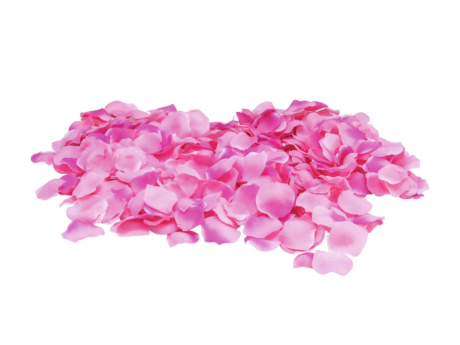 Okvětní lístky růže, růžové, 500 ks