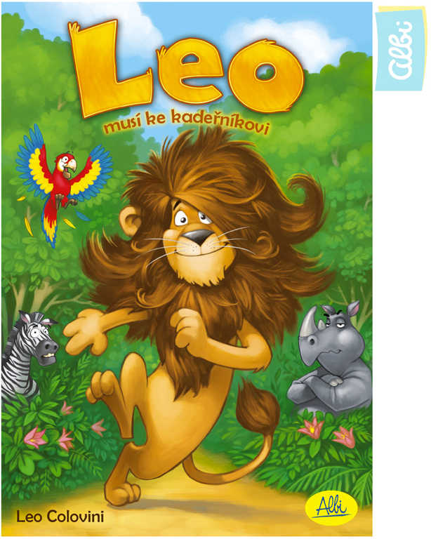 ALBI HRA Leo musí ke kadeřníkovi *SPOLEČENSKÉ HRY*