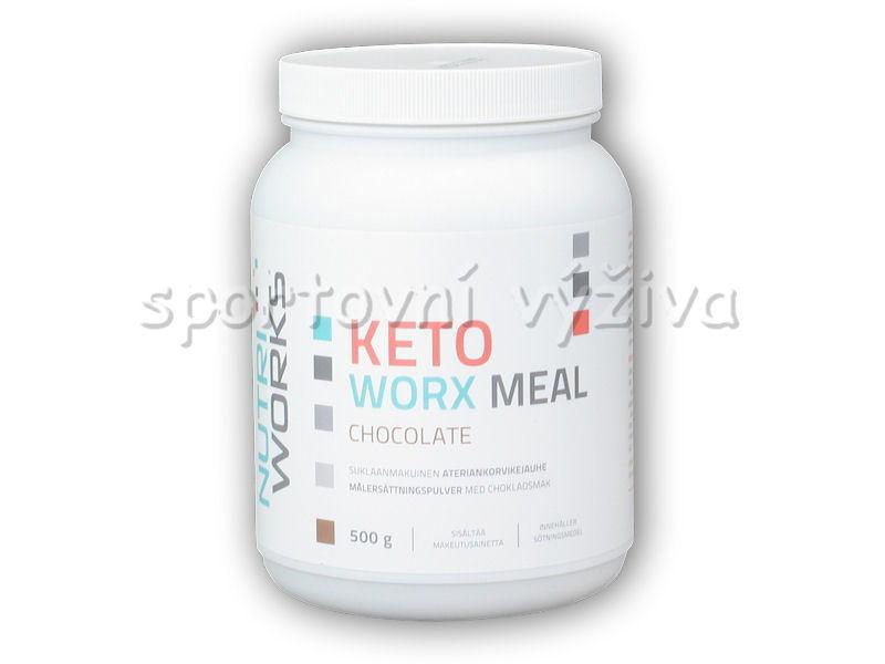 KetoWorx Meal 500g-cokolada