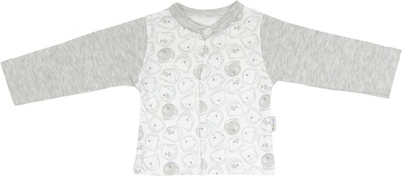 Bavlněná košilka Veselí medvídci, roz.