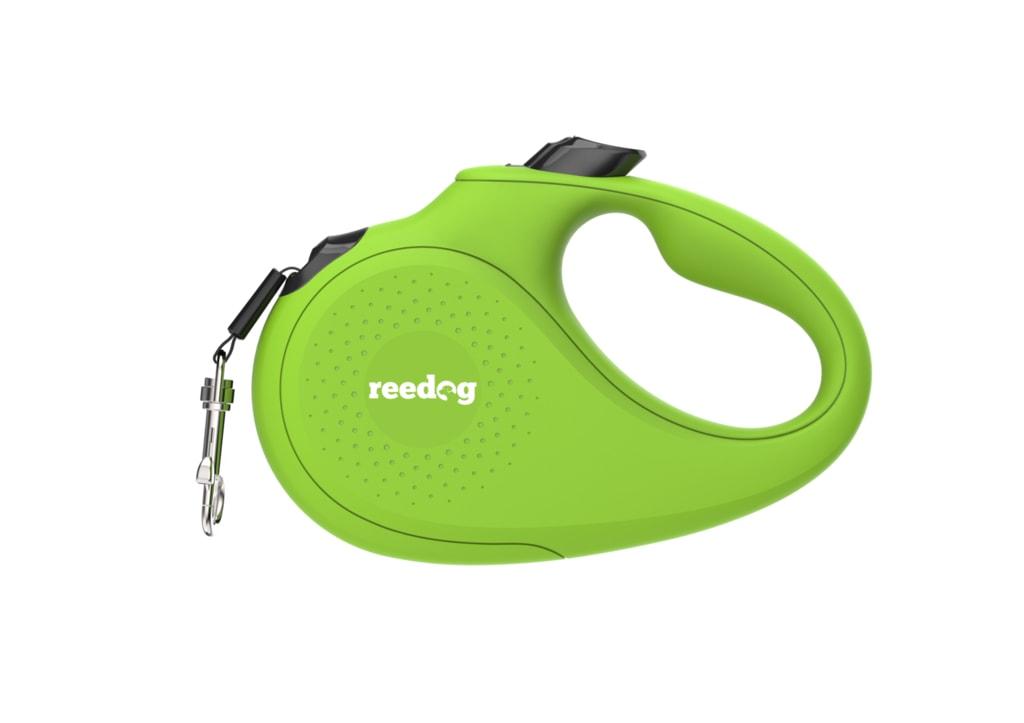 Reedog Senza Basic samonavíjecí vodítko S 15kg / 5m páska / zelené