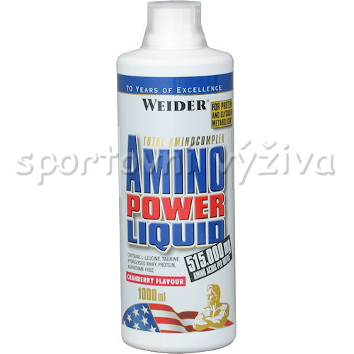 Amino Power Liquid - 1000ml-cranberry