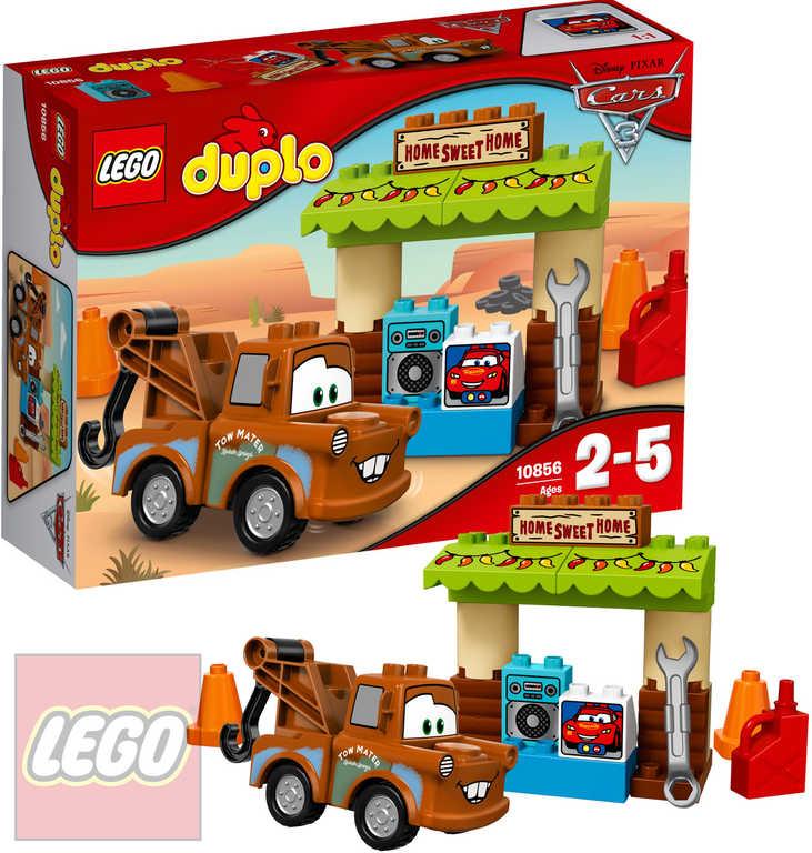 LEGO DUPLO Burákova garáž Cars (Auta) 10856 STAVEBNICE