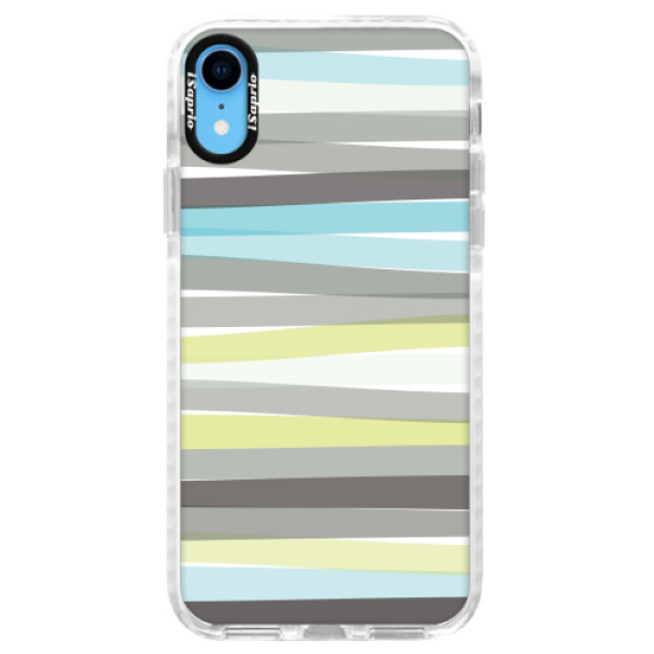 Silikonové pouzdro Bumper iSaprio - Stripe - iPhone XR