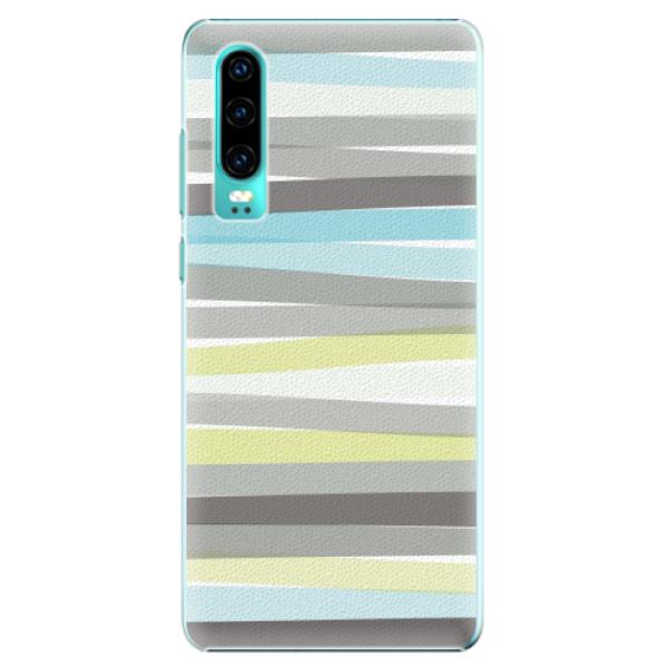 Plastové pouzdro iSaprio - Stripe - Huawei P30