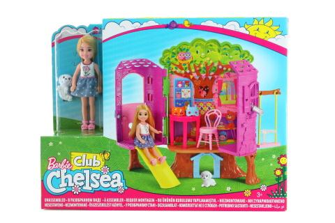 Barbie Chelsea a domeček na stromě FPF83