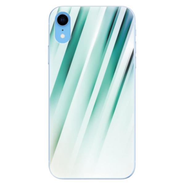 Odolné silikonové pouzdro iSaprio - Stripes of Glass - iPhone XR