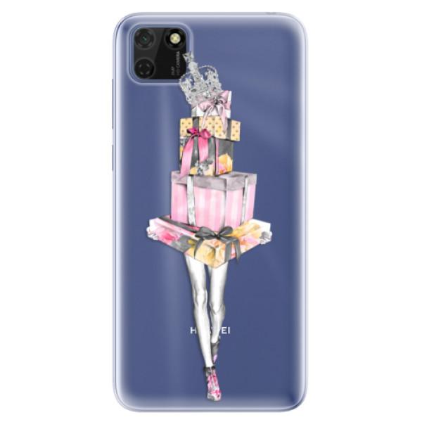 Odolné silikonové pouzdro iSaprio - Queen of Shopping - Huawei Y5p