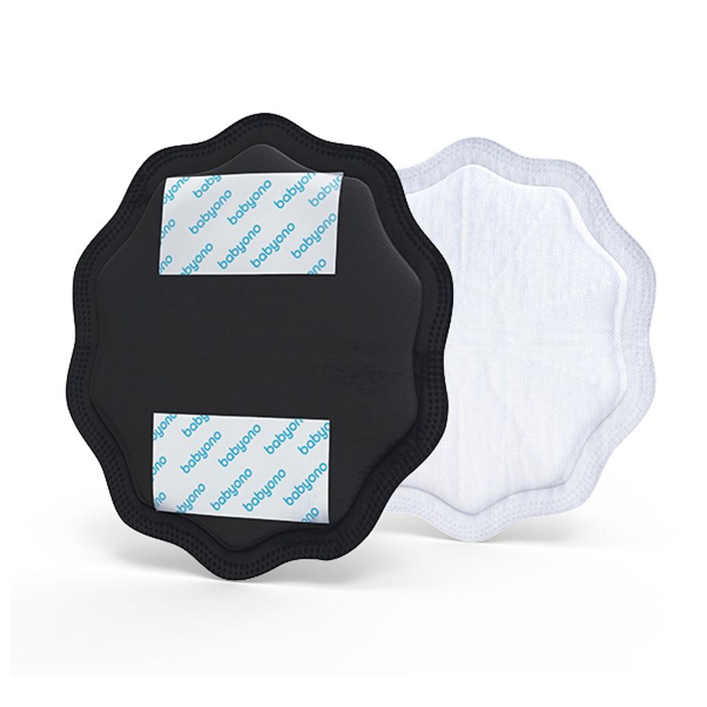 Prsní vložkyy Baby Ono černé 24 ks - černá