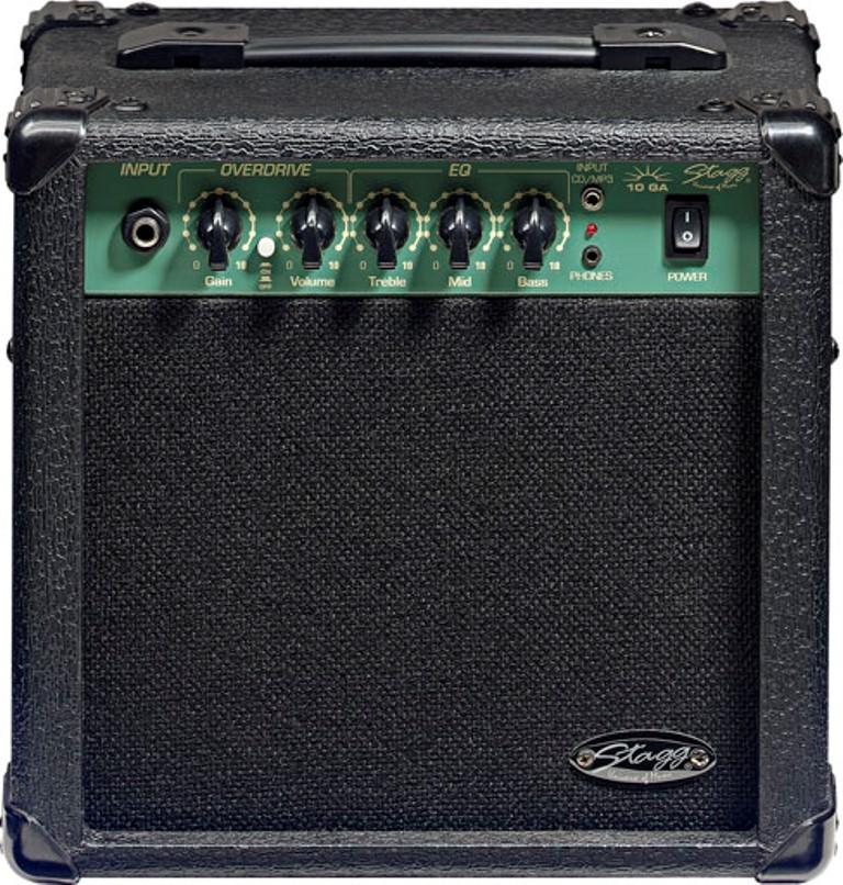 Stagg 10 GA, kombo pro elektrickou kytaru, 10W