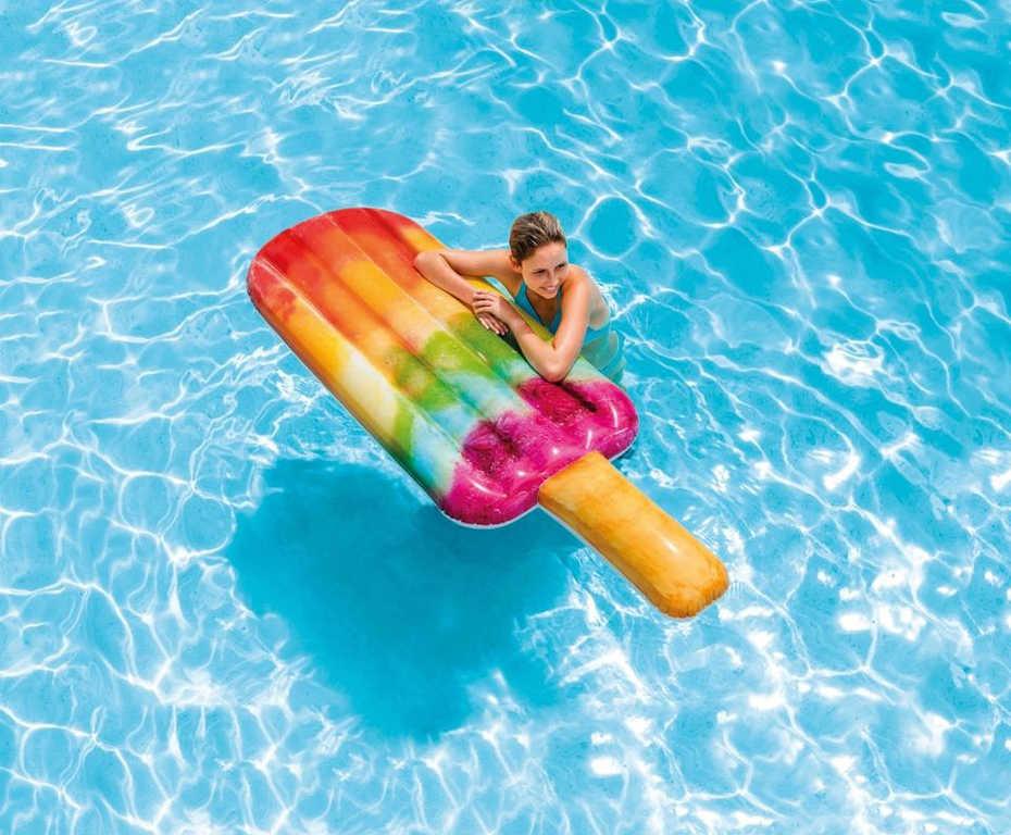 INTEX Lehátko nanuk ovocný 191cm nafukovací matrace na vodu 58766