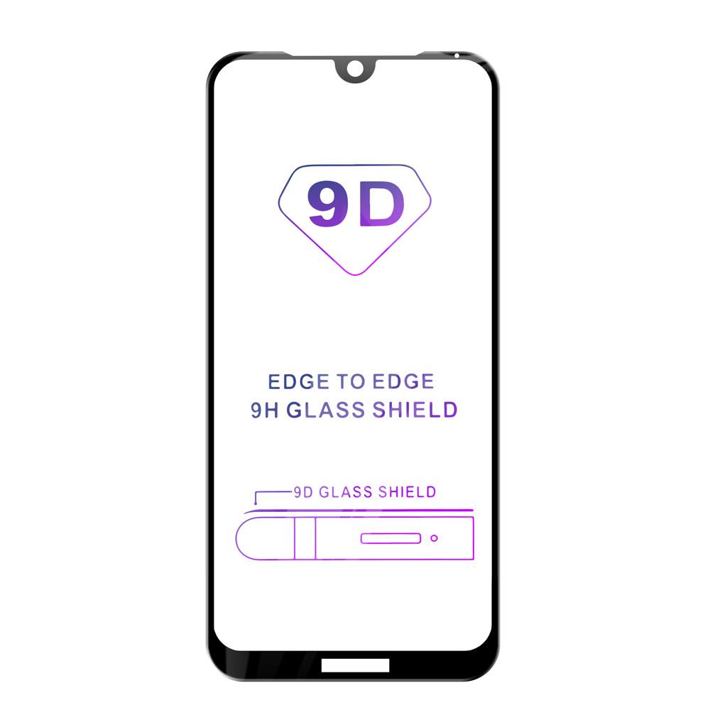 Tvrzené sklo iSaprio 9D BLACK pro Huawei Y5 (2019)