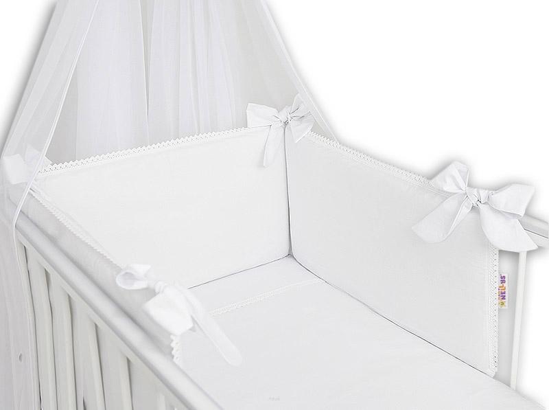 baby-nellys-luxusni-3-dilna-sada-mantinel-s-povlecenim-royal-baby-bila-120x90