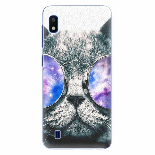 Plastový kryt iSaprio - Galaxy Cat - Samsung Galaxy A10