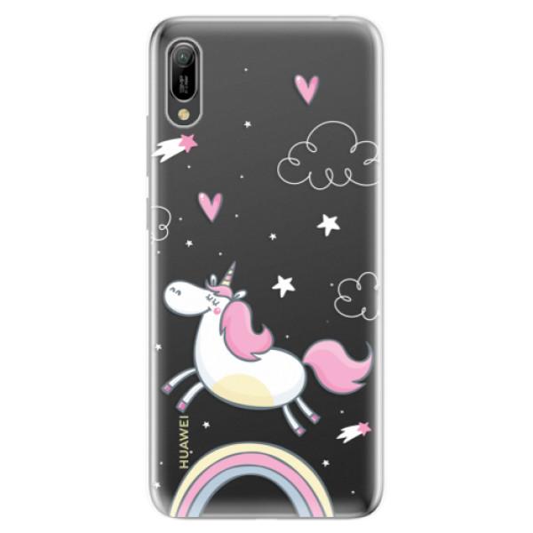 Odolné silikonové pouzdro iSaprio - Unicorn 01 - Huawei Y6 2019
